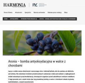 Aronia – bomba antyoksydacyjna