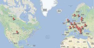 mapa aronii